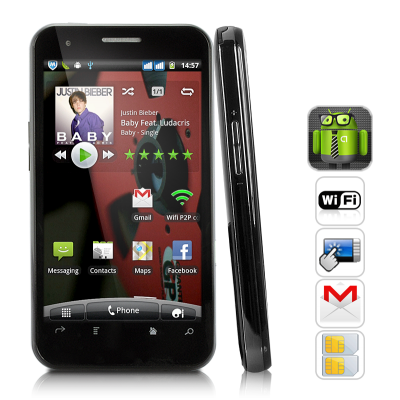 Aura Android 2.3 Phone