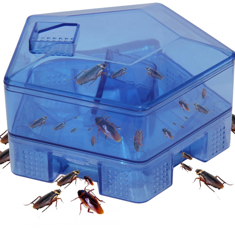 Effective Roaches Catcher Trap Eco-Friendly Physical Capture (Including 3 Bags of Bait)