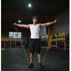 Elastic Resistance Bands Fitness Rope for Fitness Equipment Expander Training SY-2 black_30 pounds