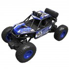 Electric Off-road Remote Control Car 1: 20 Wireless Charging Four-Wheel Drive Climbing Car Boy Toy blue