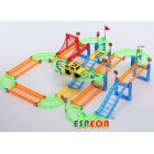 Electric Racing Rail car Train Track Model