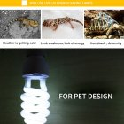 Energy Saving UVB Lamp Bulb for Reptile Tortoise Lizard Snake 220-240V white_UVB10.0 (power 13w)
