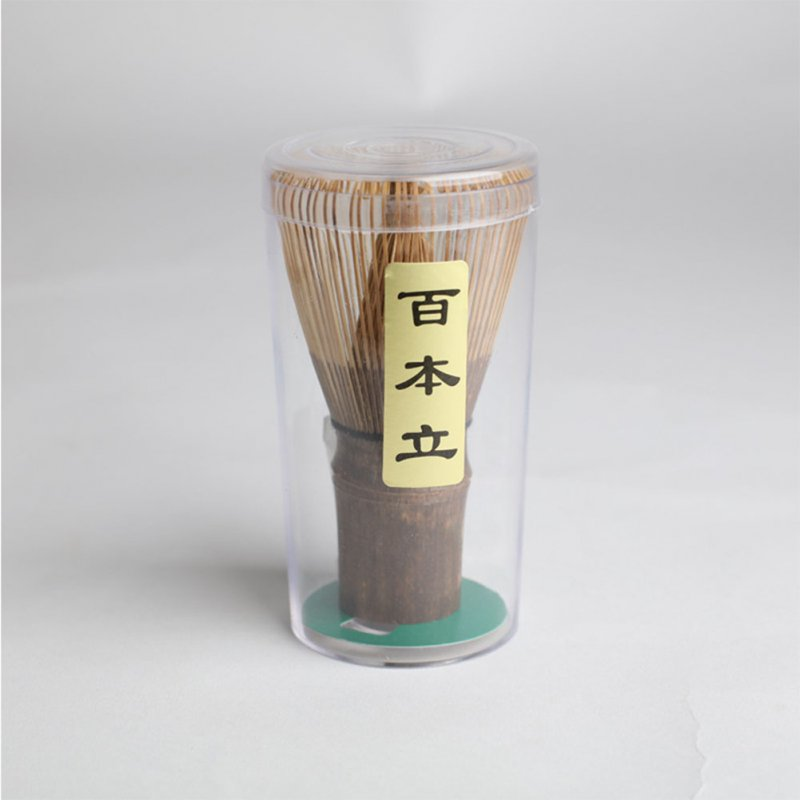Exquisite Bamboo Matcha Powder Whisk Tool Tea Ceremony Parts Fittings Supplies 100 prongs