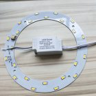 Exquisite LED 5730 Round Energy Saving Lamp Panel with Warm White Light
