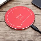 F10 Ultrathin Wireless Charger Pad red