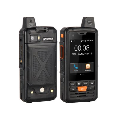 F50 4G Walkie Talkie Phone black_EU Plug