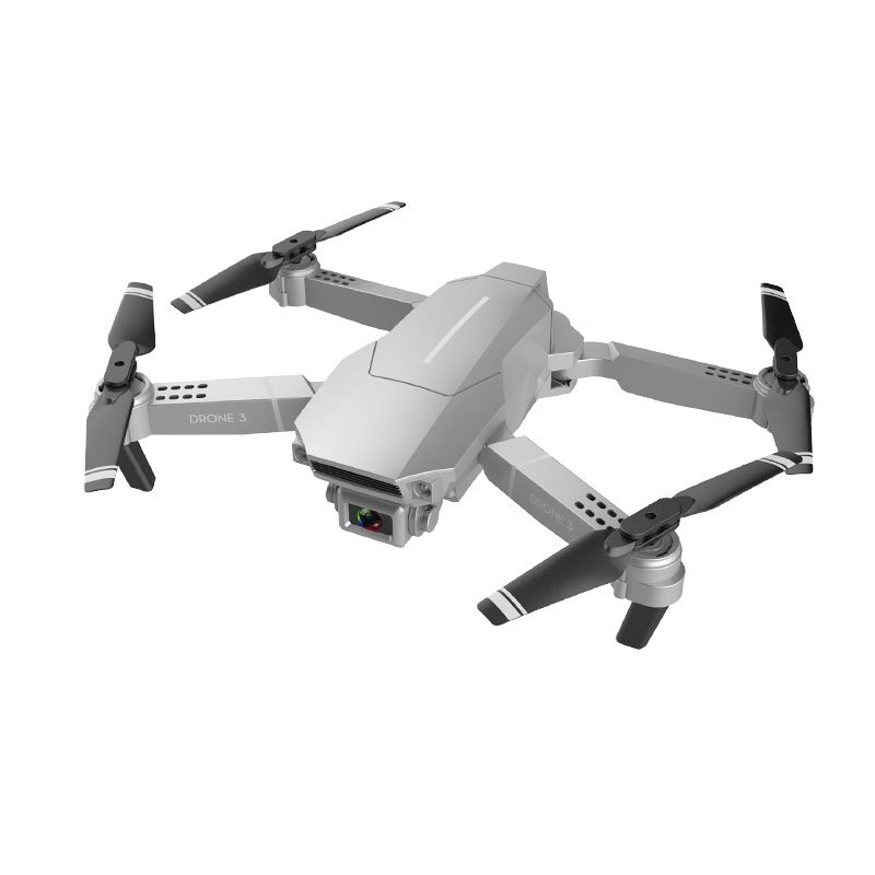F98 Drone Hd Wide Angle 4k Wifi 1080p Fpv Video Live Recording Quadcopter 20 Mins Flight Time Height to Maintain Drone Camera Toys White_4K