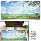 Fashion Cool Pattern Gaming Mouse Pad Protector Desk Pad for Office Home Desk Afternoon sunshine_700x300x3 mm