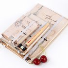 Fashion Student Elastic Bandages Notebook Smooth Paper Notepad (Random Style)
