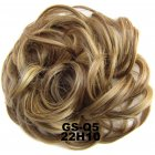 Fashion Synthetic Women Hair Pony Tail Hair Extension Bun Hairpiece Scrunchie Elastic Wedding Wave Curly  22H10