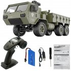 Fayee FY004A 1/16 2.4G 6WD Rc Car Proportional Control US Army Military Truck RTR Model Toys With camera +1 battery_1:16
