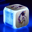 Figures Color Changing Night Light Alarm Clock Kids Toy Gift