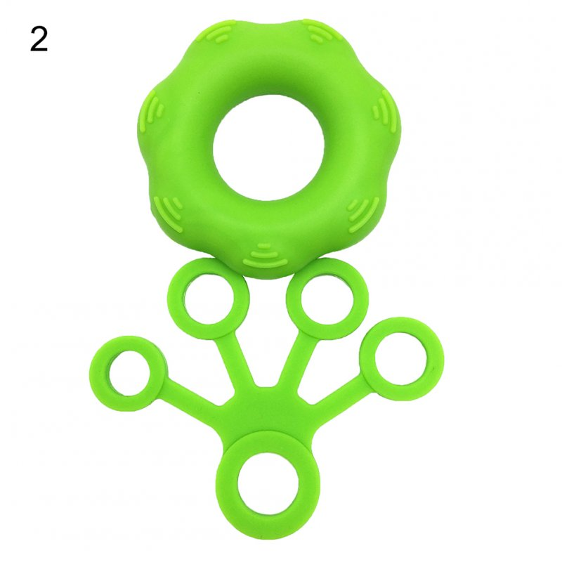 Finger Pull Ring+Resistance Bands For Training Rubber Loop Pull Ring Hand Grip Expander