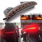 5 wire Motorcycle License Plate Brake LED Light Turn Signal for Harley Sportster XL883