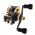 Fishing Reel 11-axis Cnc All-metal Head Smooth Micro Lead Fishing Reel Fishing Accessories b65 golden right hand