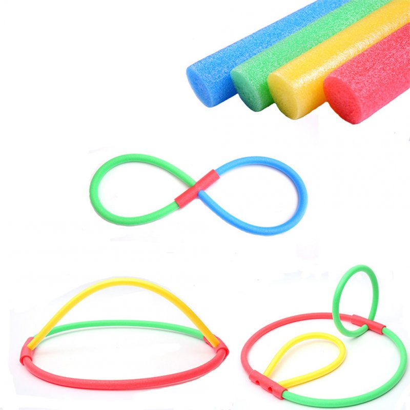 Flexible Colorful Solid Foam Pool Noodles Swimming Water Float Aid Woggle Noodles 6*120cm