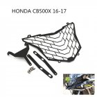 For HONDA CB500X 2016-2017 Headlight Protection Cover Grille Guard Cover Protector Motorcycle Accessories  black