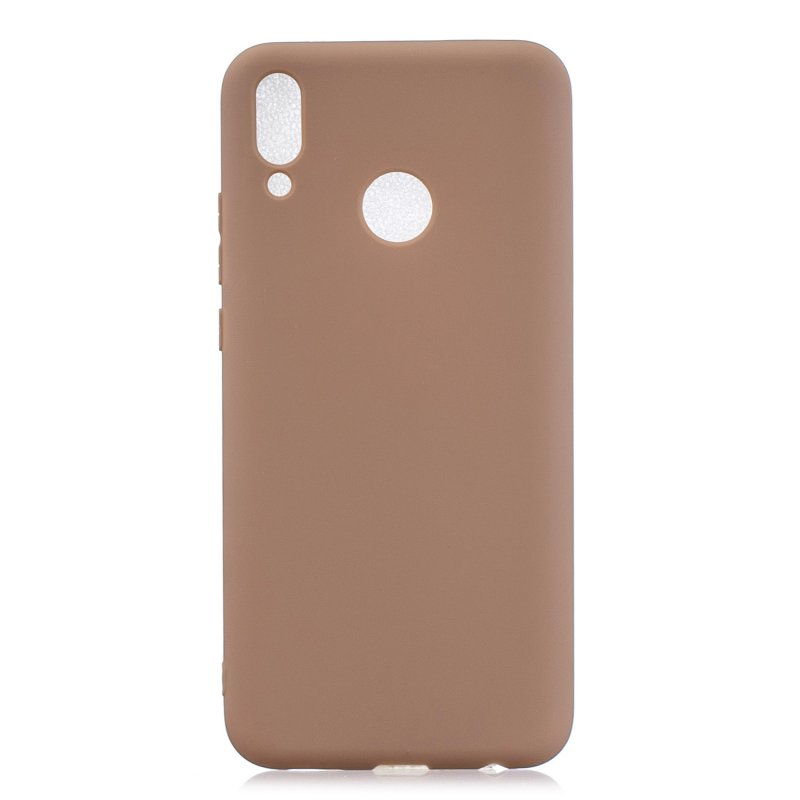 For HUAWEI Y9 2019 Lovely Candy Color Matte TPU Anti-scratch Non-slip Protective Cover Back Case 9