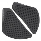 For Honda CB1300 06-15 Anti Slip Tank Pad Side Gas Knee Grip Traction Pads Sticker Decals  black