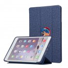 For iPAD Mini 12345/Pro/Air123 Tablet Cover 9.7-inch 10.5-inch Cover Embroidery Case Overal Protection Shell Anti-Fall Stand Function  blue_For iPAD Mini 12345