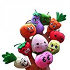 Fruits and Vegetables Soft Finger Puppets Set