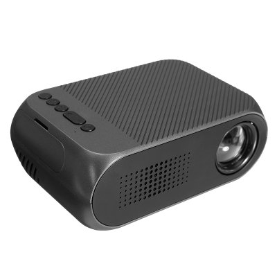LEJIADA 1080P Mini Projector - Black EU Plug