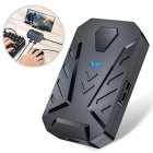 GAMWING MIX Mobile Game Adapter Keyboard Mouse Converter Mobile Stand Plug and Play Support Android IOS for Chicken Game Aim Rate Up Helper black