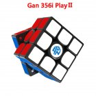 GAN356I 2 play Magic Cube 3X3 Smooth Speed Magic Cube Puzzle Educational Toys 356I 2play sticker version