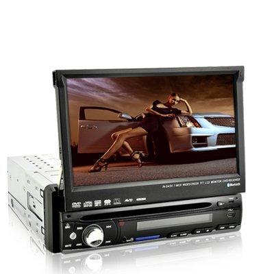 Shockwave Lite 7 Inch Car DVD