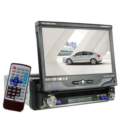 GPS Navigation and Car Audio System with 7 Inch Touchscreen