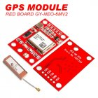 GY-NEO6MV2 NEO-6M GPS Module with Antenna for Arduino Raspberry Pi red
