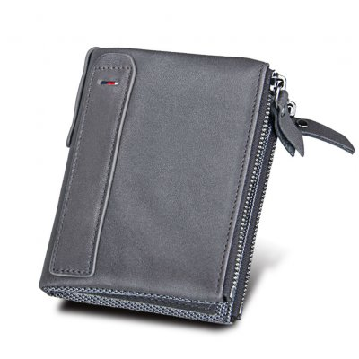 Genuine Cowhide Leather Men Wallets