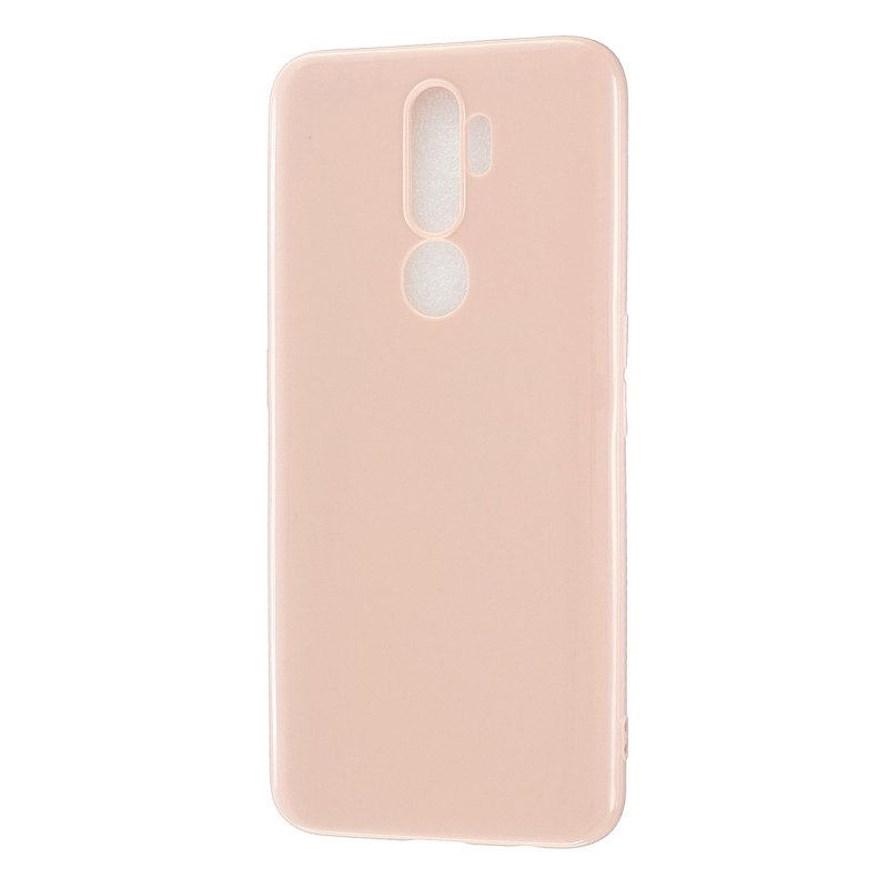 For OPPO A5/A3S/A9 2020 Cellphone Cover Soft Touch Anti-scratch Shockproof TPU Mobile Phone Case  Sakura pink
