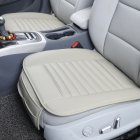 Gray Breathable Car Interior Cushion Pad