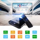 H96Mini STB H8 2G+16G 4K HD TV Set Top Box Rockchip RK3228A Support 2.4G /5G WiFi Android 9.0 Google Play  US Plug