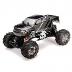 HBX 2098B 1/24 4WD Mini RC Car Crawler Metal Chassis For Kids Toy Grownups gray