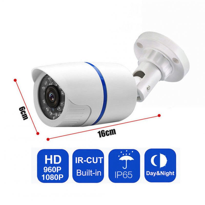 HD 1080P Outdoor IR Video Camera Security System Motion Detector with Night Vision PAL-6MM