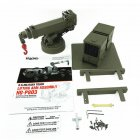 HG HengGuang Boom P803 Card 1 / 12 Remote Control Car Climbing Truck Tractor Heavy RC Accessories Modified Army Green