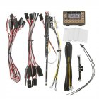 HG P402 P407 P601 P801 P802 1/10 1/12 RC Car Parts WE7021 IC Mainboard with LED Light Set as shown