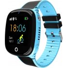 HW11 Smart Watch Kids GPS Bluetooth Pedometer Positioning IP67 Waterproof Watch for Children Safe Smart Wristband Android IOS blue