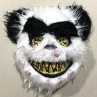 Halloween Bloody Animal Mask Horror Mask Cosplay Party Scary Mask Panda mask
