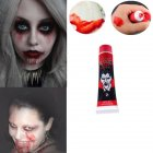 Halloween Toy Adult Makeup Realistic Artificial Plasma Scary Props 1pc