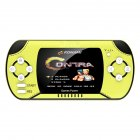 Handheld Game Console Power Bank 10000 mAh Large Capacity Handheld Wireless Charger Fluorescent green