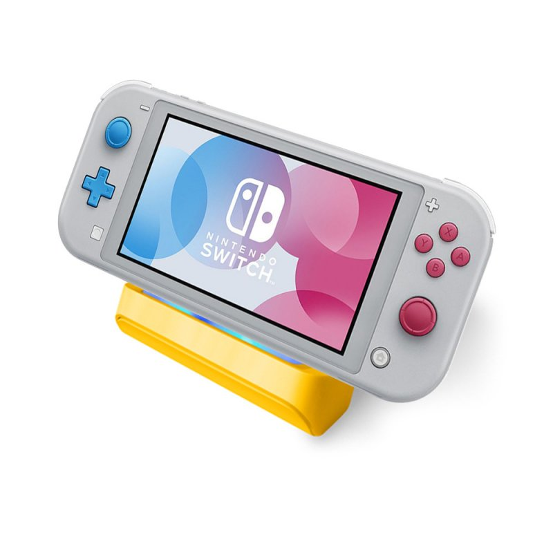 Handheld Gamepad Game Console Charger Base for Nintend Switch Mini  yellow
