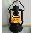 Handheld Kerosene Lamps LED Decorative Night Light for Halloween Party Home Supplies Portable pumpkin kerosene lamp