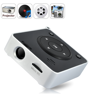 10 Lumen Mini Projector with MP4