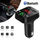 Handsfree Wireless Bluetooth FM Transmitter LCD MP3 Player USB Charger Car Kit