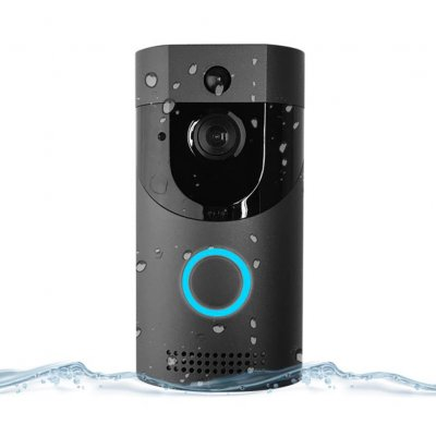 Smart WiFi Doorbell Video Camera (Black)