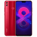 Huawei Honor 8X 4+64GB phone US Version Red