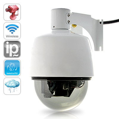 PTZ IP Camera with 3x Optical Zoom